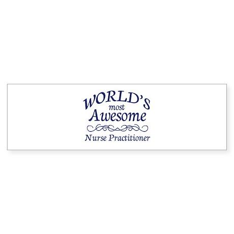 Nurse Practitioner Sticker (Bumper)