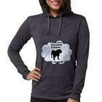 FIN-bulldogs-in-heaven.png Womens Hooded Shirt