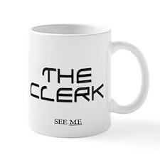 Court Clerk Court Small Mug