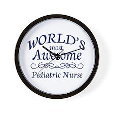 Pediatric Nurse Wall Clock