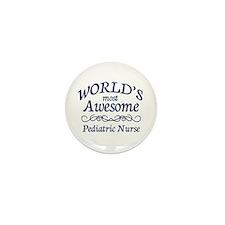 Pediatric Nurse Mini Button (10 pack)