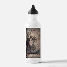 Ernest Hemingway Water Bottle