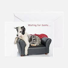 Waiting for Santa Greeting Cards (Pk of 10)