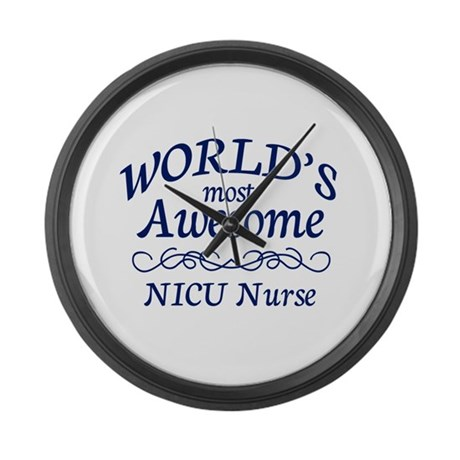 NICU Nurse Large Wall Clock