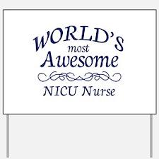 NICU Nurse Yard Sign