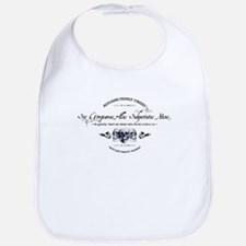 Addams Family Creed Bib