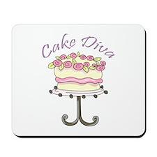 Cake Diva Mousepad