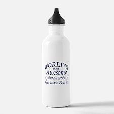 Geriatric Nurse Water Bottle