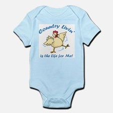 Country Livin Infant Bodysuit