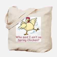 Spring Chicken Tote Bag