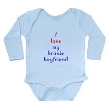 Bronie Boyfriend Long Sleeve Infant Bodysuit