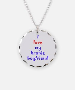 Bronie Boyfriend Necklace Circle Charm