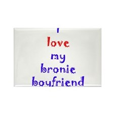 Bronie Boyfriend Rectangle Magnet