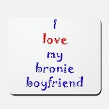 Bronie Boyfriend Mousepad