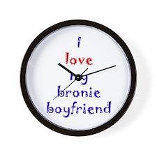Bronie Boyfriend Wall Clock