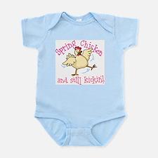 Spring Chicken Infant Bodysuit
