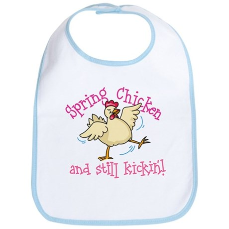 Spring Chicken Bib