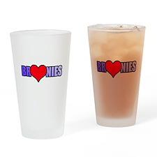 Bronie Love Drinking Glass