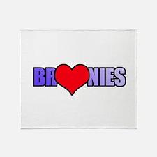 Bronie Love Throw Blanket