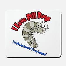 Pill Bug Mousepad