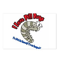 Pill Bug Postcards (Package of 8)