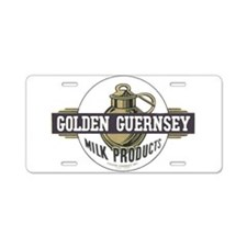 Funny Guernsey Aluminum License Plate