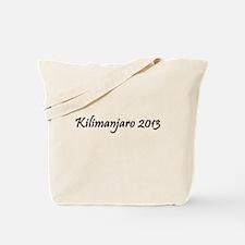 Kilimanjaro 2013 Tote Bag