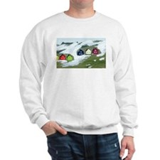 Colorful Winter Houses Sweatshirt