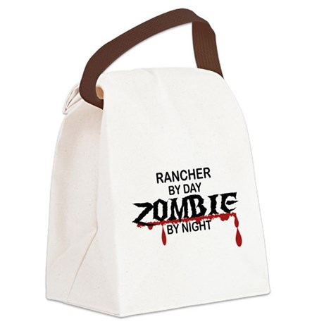 Rancher Zombie Canvas Lunch Bag