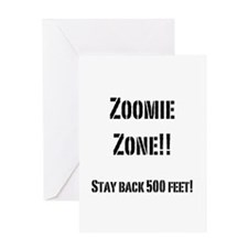 Funny Poodle agility Greeting Card