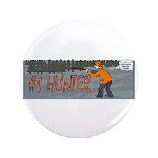 "#1 Hunter 3.5"" Button"