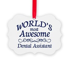 Dental Assistant Ornament