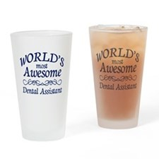 Dental Assistant Drinking Glass