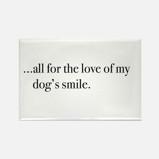 3-dog smile Magnets