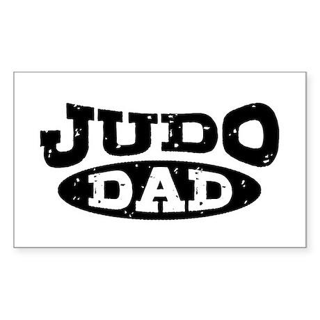 Judo Dad Sticker (Rectangle)