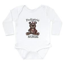 Pediatric Nurse Long Sleeve Infant Bodysuit