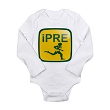 iPRE Prefontaine Long Sleeve Infant Bodysuit