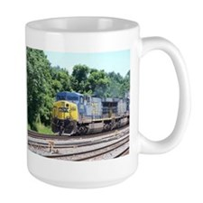CSX Train-Q190-CSX-ABRAMS Mugs
