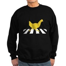 Chicken Crosses Road Sweatshirt