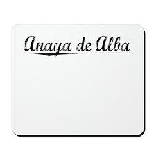 Anaya de Alba, Aged, Mousepad