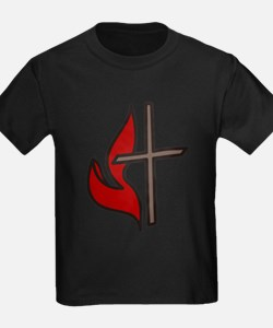 Cross And Flame T