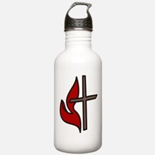 Cross And Flame Water Bottle