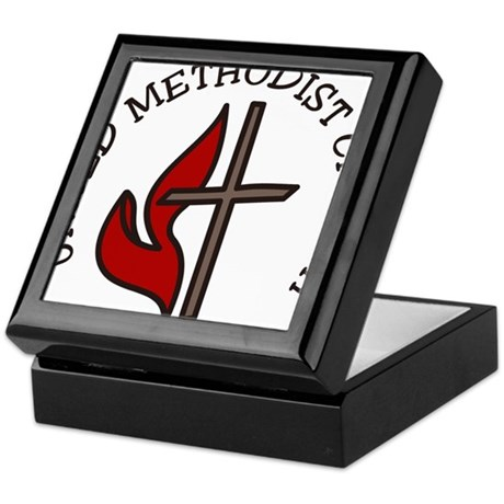 United Methodist Church Keepsake Box