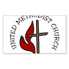 United Methodist Church Decal