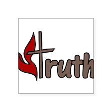 """Truth Square Sticker 3"""" x 3"""""""