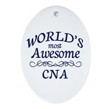 CNA Ornament (Oval)
