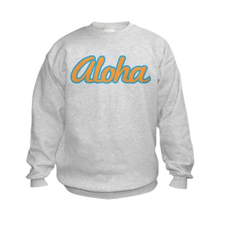 Aloha Hello Aloha Goodbye Hawaii Kids Sweatshirt