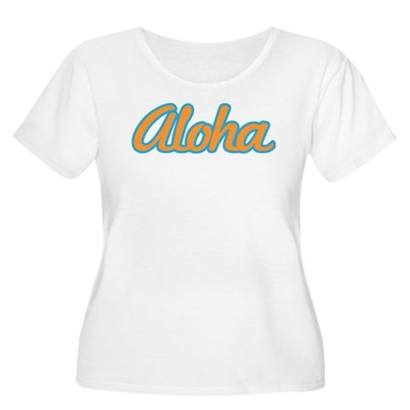 Aloha Hello Aloha Goodbye Hawaii Women's Plus Size