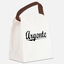 Argente, Aged, Canvas Lunch Bag