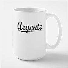 Argente, Aged, Ceramic Mugs